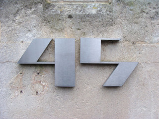 No 45 - stylised metal | by kirstyhall