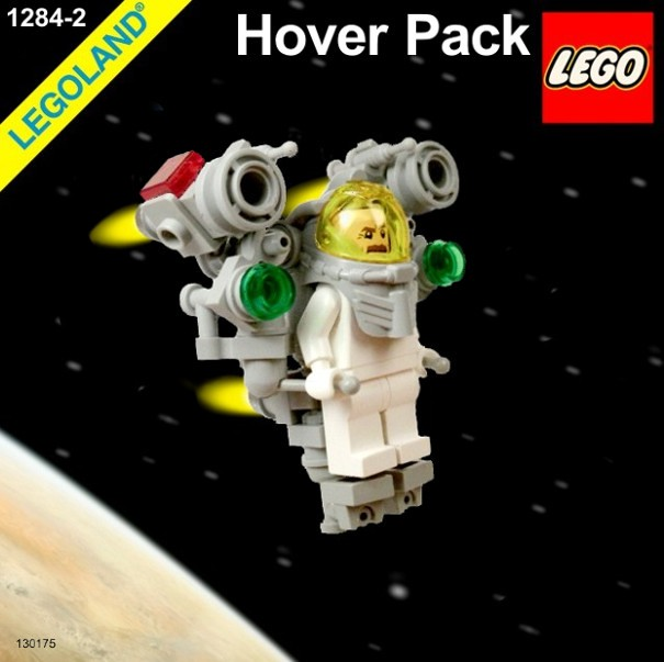 LEGO - Neo Classic Space LL-1284 - 1284-2 Hover Pack