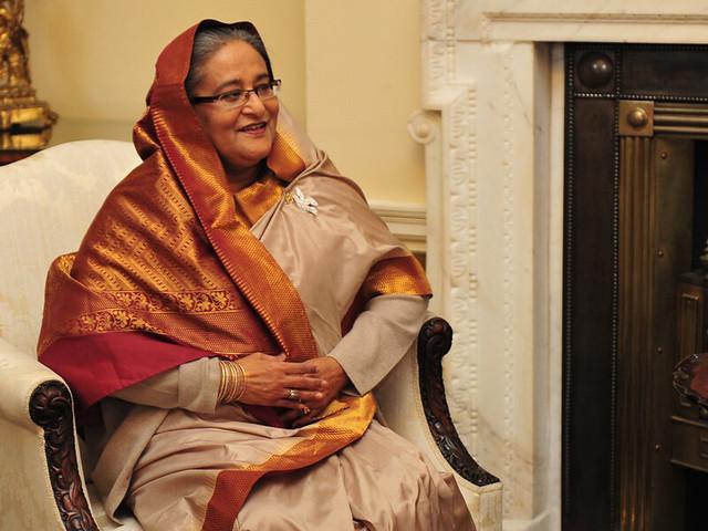 The Prime Minister of Bangladesh, Sheikh Hasina