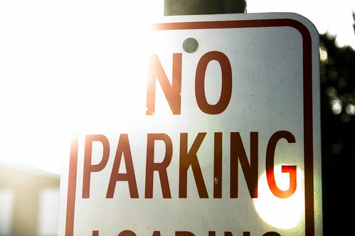 No Parking sign   by khawkins04