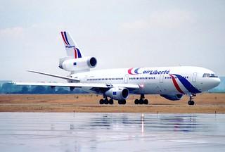 Air Liberté DC-10-30; F-GPVA@ORY;06.08.1996