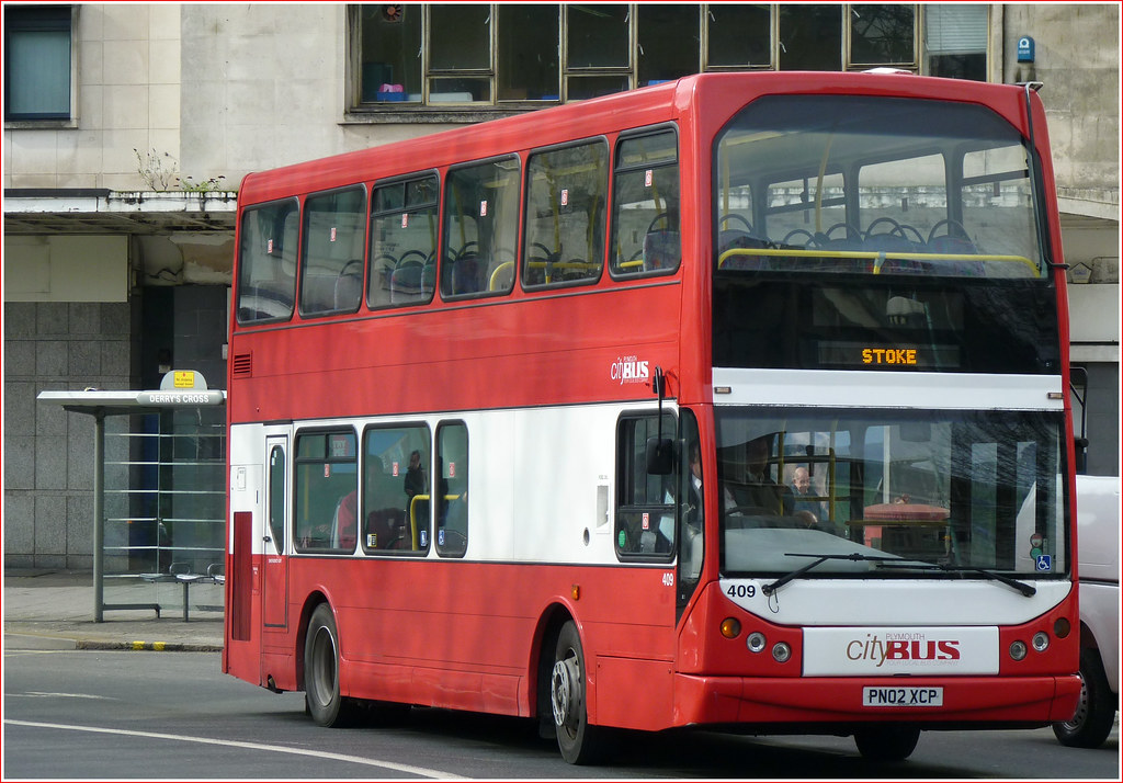 Plymouth Citybus 409 PN02XCP 22 February 2011