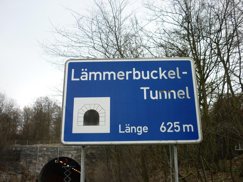 A8 Sperrung Lämmerbuckeltunnel