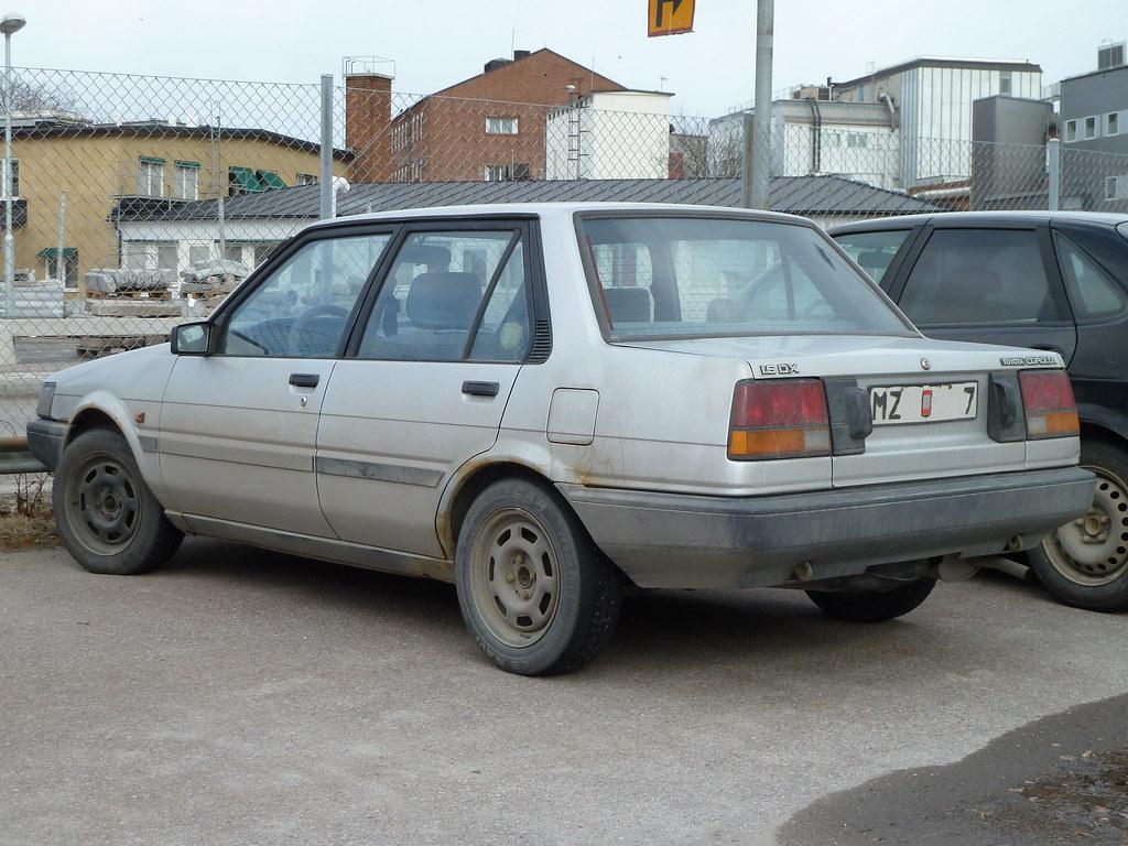 Kelebihan Toyota Corolla 1987 Spesifikasi