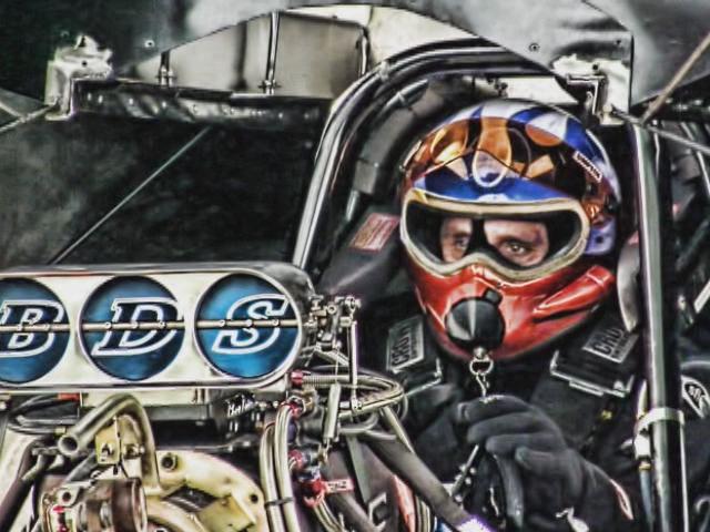 Nitro Funny Cars - Burnouts