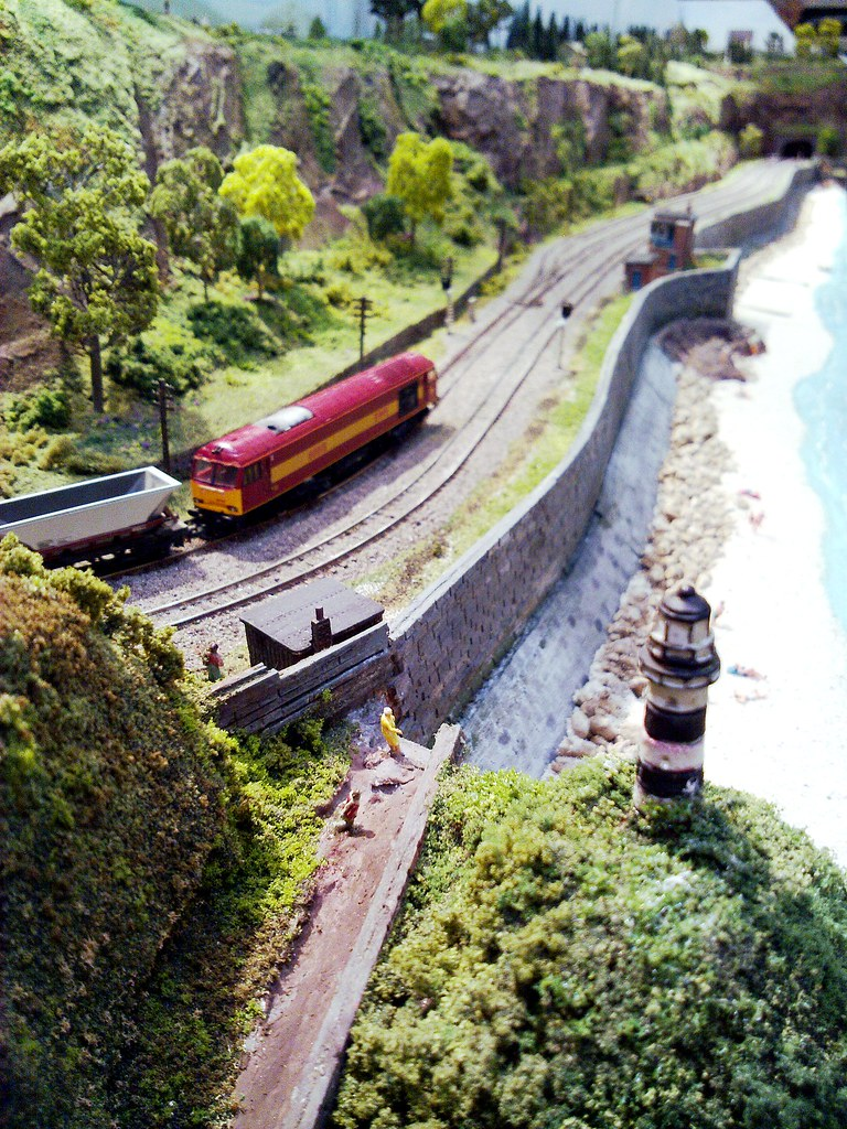 Adlington On Sea, N Gauge Seaside Model Railway Layout | Flickr