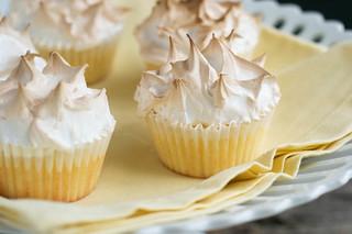 Lemon Meringue Cupcakes | by Jordana Lea