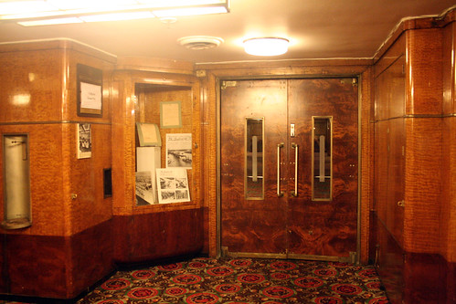 Queen Mary - Entrance to Former Second-Class Lounge (Now Brittania Room) | by Miss Shari