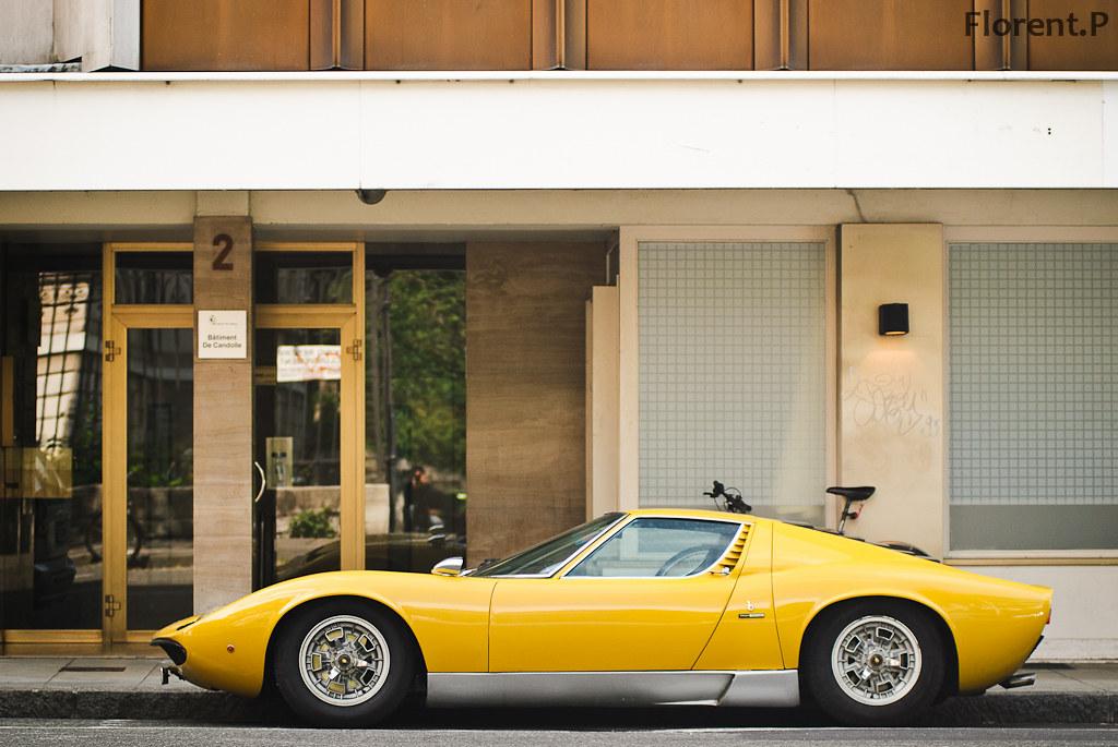 Lamborghini Miura S Yesterday In Geneva My Second Miura Flickr