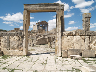 The Capital at Dougga (VII) | by isawnyu