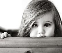 Baby Girl Beautiful Black White Cute Eyes Face Little Gi Flickr