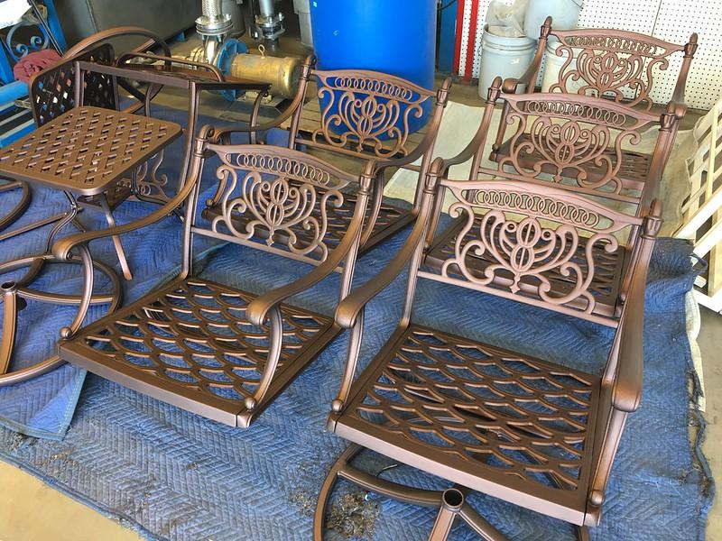Furniture Restoration Las Vegas - AR Powder Coating
