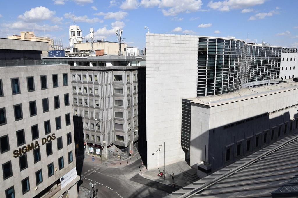 Edificio Ampliación Congreso Panorámica Desde La Terraza D