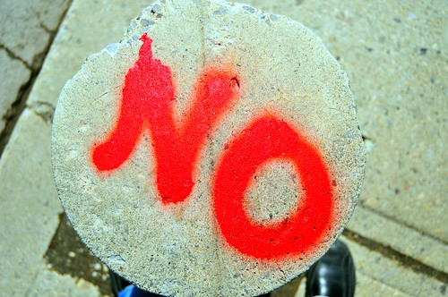 JUST SAY NO | by marc falardeau