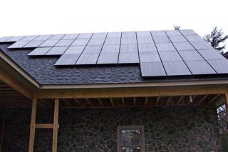 Portland, NY residential solar installation   by Solar Liberty