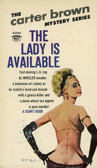 Signet Books S2244 - Carter Brown - The Lady is Available