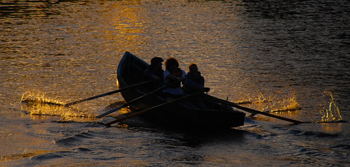 ireland sunlight water silhouette river evening boat shadows dusk cork row lee rowing mick splash oars dunne mickdunne photoengine oloneo