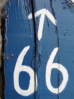 No 66 - with arrow | by kirstyhall