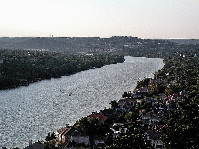 Mount Bonnell and a View from Above
