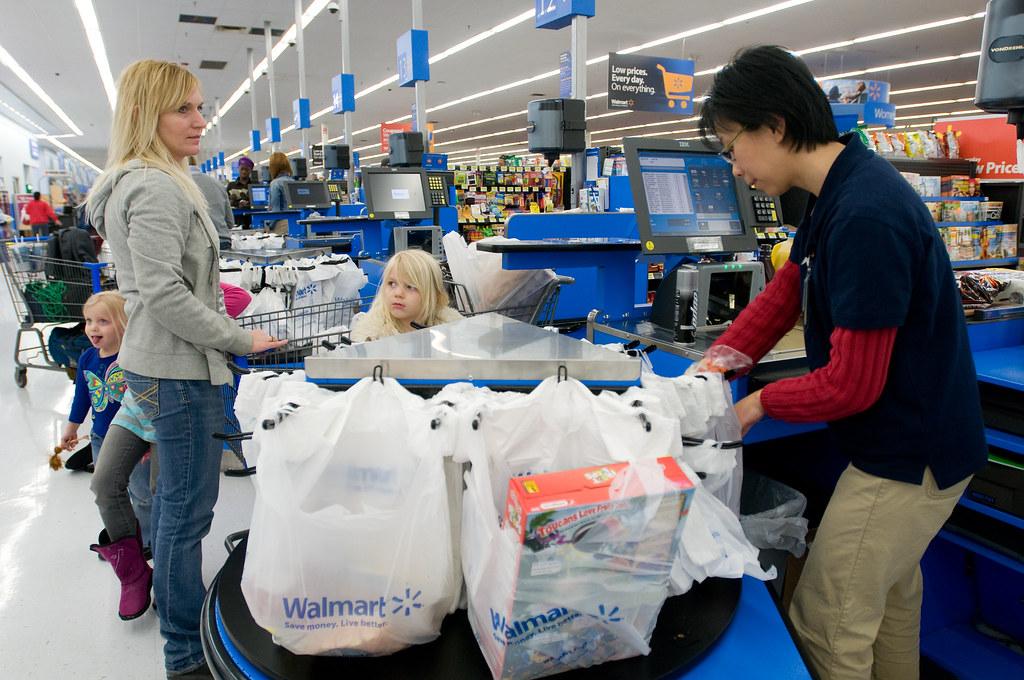 Walmart Grocery Checkout Line in Gladstone, Missouri   Flickr