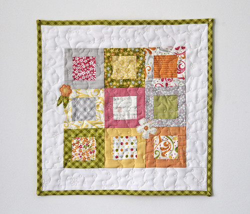 Sunkissed Summer Squares - Table Topper
