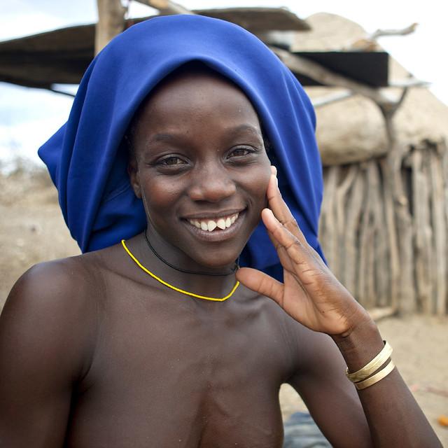 Mukubal With Sharpened Teeth, Virie Area, Angola