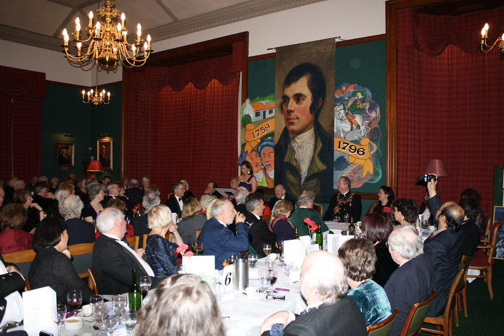 Dana Linnet Speaking at Burns Supper