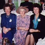 L-R; Catherine Mary Byrne, Mary Ursula Hockey and Ann Patricia Griffiths at  Bernadette & Andy Smith's wedding 1990