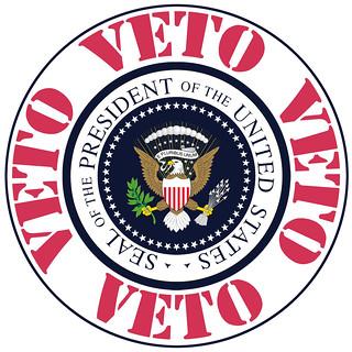 Presidential Veto | by DonkeyHotey