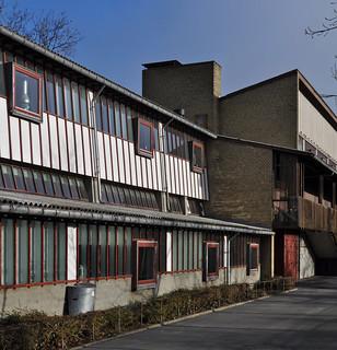 hans chr. hansen, architect: hanssted skole / school, copenhagen 1954-1959 | by seier+seier