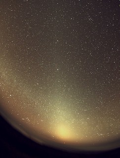 The Zodiacal light from La Palma   by atmosphere2011