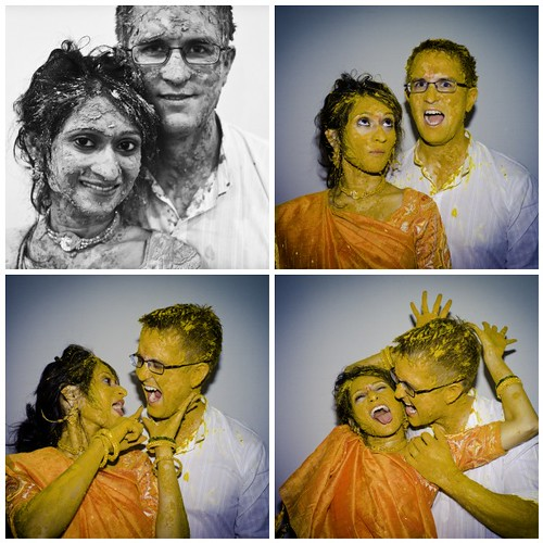 Haldi Ceremony Collage | by blacksapphire