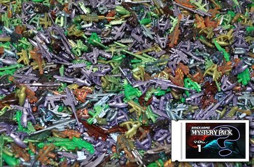 BrickArms Mystery Pack Vol1 - Metallics & Trans | by BrickArms