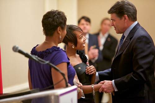 2011 Big Brother Big Sisters of the Year | by Texas Governor Rick Perry