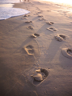 Footprints_on_sand   by RN1STC