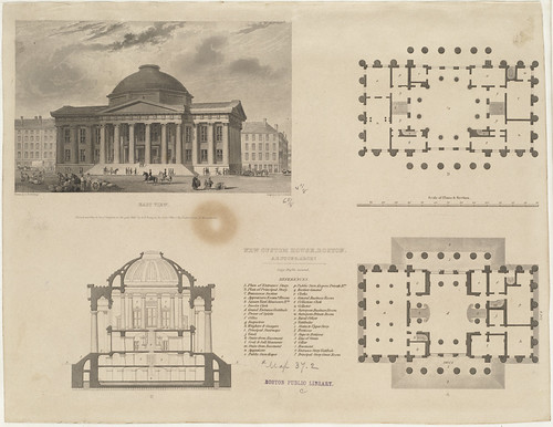 New Custom House, Boston. A. B. Young, Archt. | File name ...