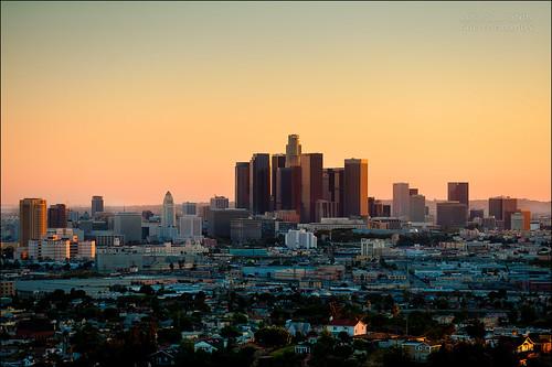 california city sunset sky orange usa color building iso200 losangeles nikon outdoor explore ciel nikkor f28 couleur ville 120mm lightroom lightroom3 nikond700 lucasjanin ¹⁄₅₀₀sec afsvrnikkor70200mmf28gifed