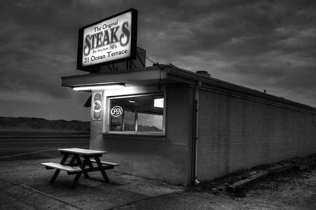 The Original Steaks.  AKA Nighthawks at the Steak House.