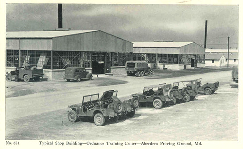 36  APG Typical Shop Building - Ordnance Training Center
