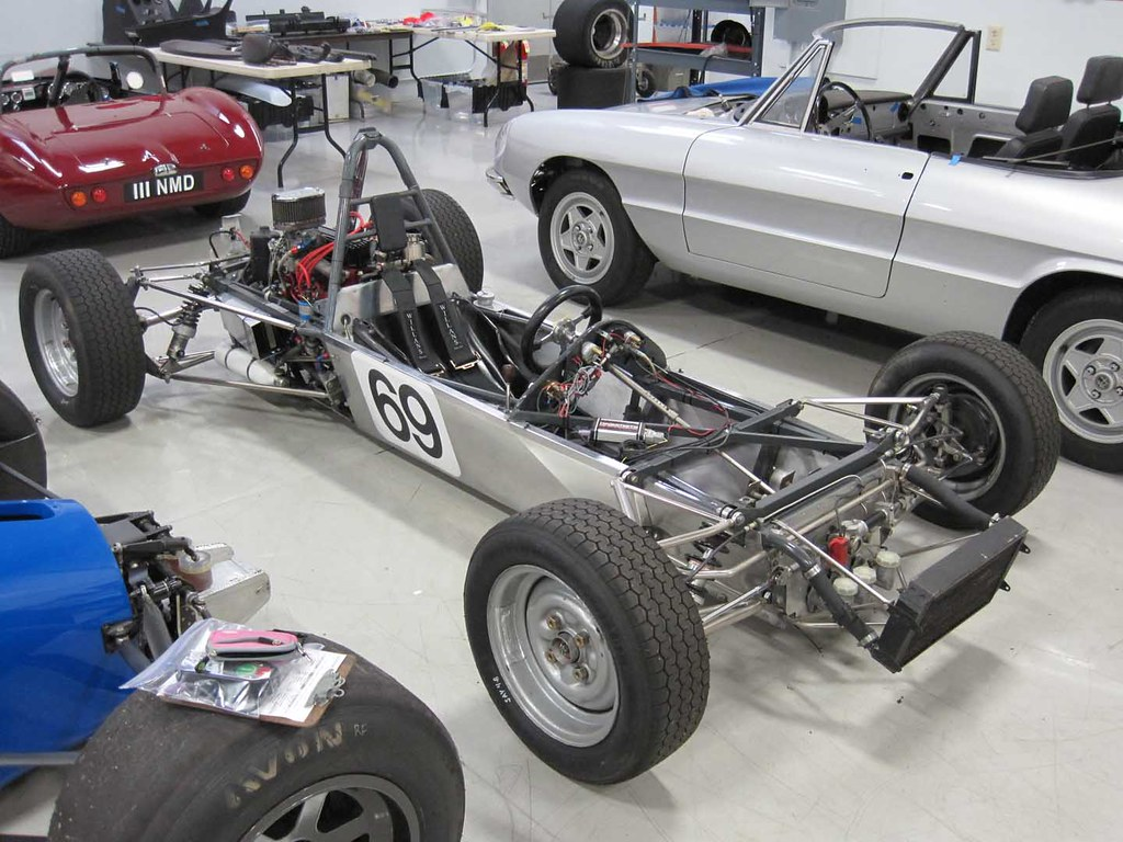 1972 Lotus 69 Formula Ford Vintage Race Car For Sale Body