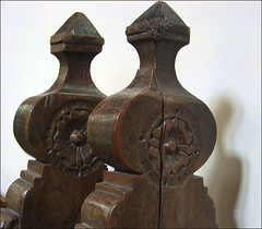 17th century bench ends