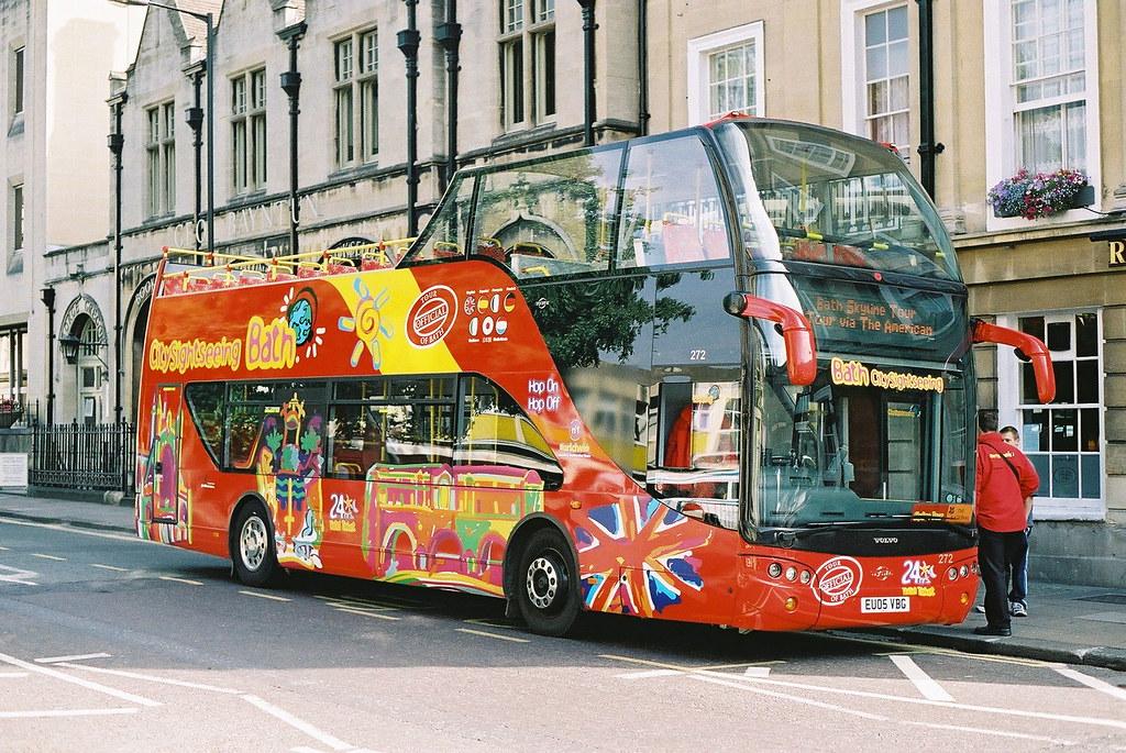 BathBusCo-272-EU05VBG-Bath-090905 | Bath Bus Company no 272
