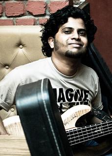 Hemant Aligi - Bass Guitarist | by strandedmike