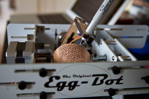 Egg-Bot in Action | by bradmohr