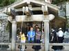 """Kjóto, pramen  tzv. """"čisté vody"""" o které se věří, že má léčivé účinky. chrám Kijomizu-dera, foto: Vladimír Šťastný"""