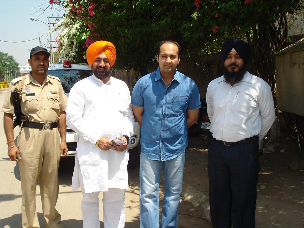 Punjab Govt  PSIEC Vice Chairman Sukhminderpal Singh Grewa