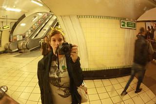 Mirror self portrait, Wood Green station | by Nina A. J. G.