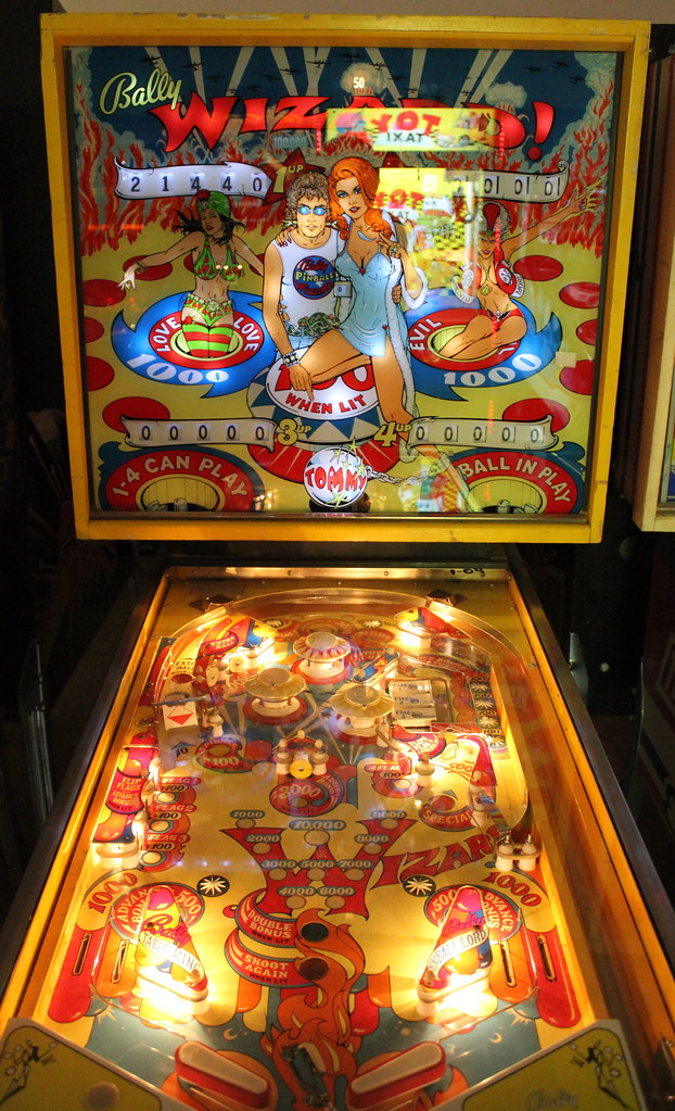The Tommy Pinball Wizard Pinball Machine Late 1970's | Flickr