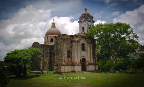 Iglesia en Acatlán de Osorio, Puebla, México.
