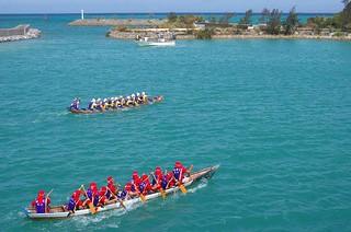 Okinawan Dragonboat Races